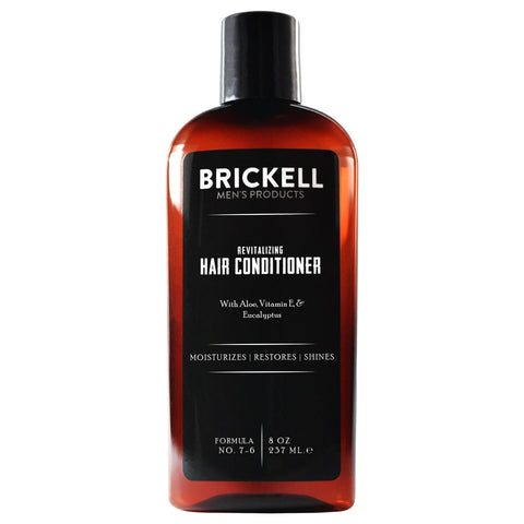 Brickell Men's Products Revitalizing Hair Conditioner | Apothecarie New York