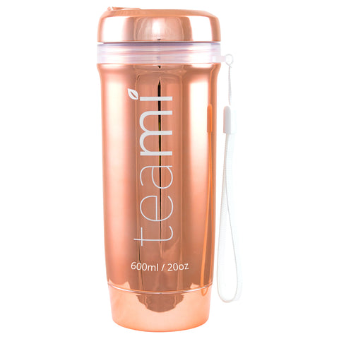 Teami Blends Teami Tumbler Rose Gold | Apothecarie New York
