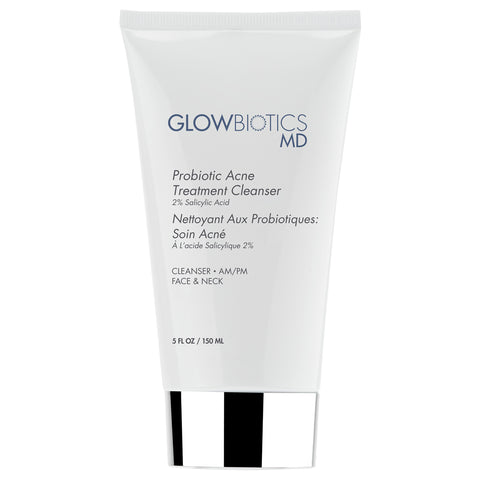 Glowbiotics Probiotic Acne Treatment Cleanser 2% Salicylic Acid | Apothecarie New York