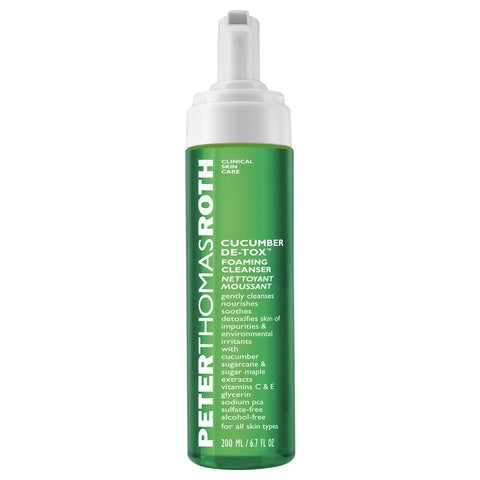 Peter Thomas Roth Cucumber De-Tox Foaming Cleanser | Apothecarie New York