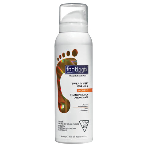Footlogix Sweaty Feet Formula | Apothecarie New York