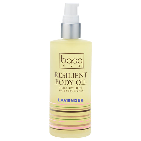 Basq NYC Resilient Body Stretch Mark Oil Lavender | Apothecarie New York