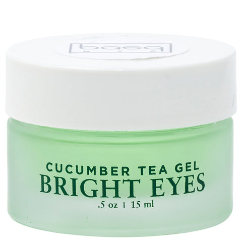 Basq NYC Bright Eyes Cucumber Tea Gel | Apothecarie New York