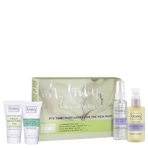 Basq NYC Oh Baby! Hospital Essentials Set | Apothecarie New York