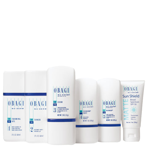 Obagi Nu-Derm Trial Kit Normal To Oily | Apothecarie New York