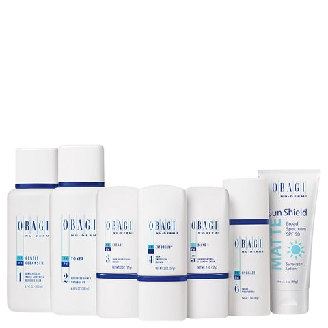 Obagi Nu-Derm Fx Starter System Normal to Dry | Apothecarie New York