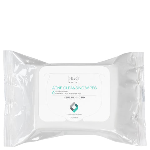 Obagi On the Go Cleansing Wipes for Oily or Acne Prone Skin | Apothecarie New York