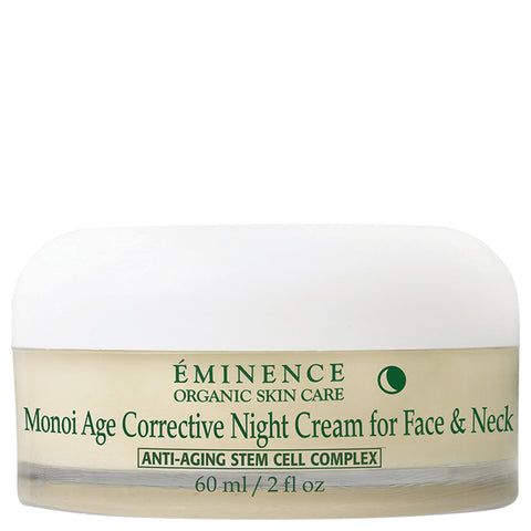 Eminence Monoi Age Corrective Night Cream for Face & Neck | Apothecarie New York