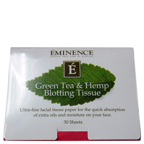 Eminence Green Tea & Hemp Blotting Tissue | Apothecarie New York