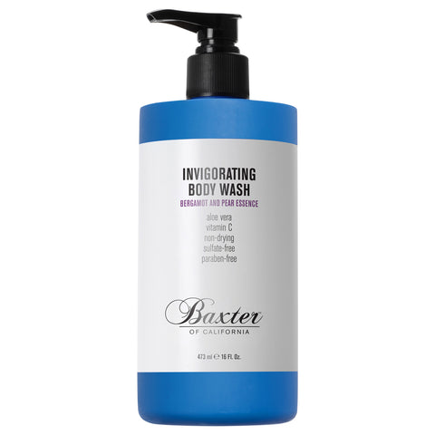 Baxter of California Invigorating Body Wash Bergamot & Pear Essence | Apothecarie New York