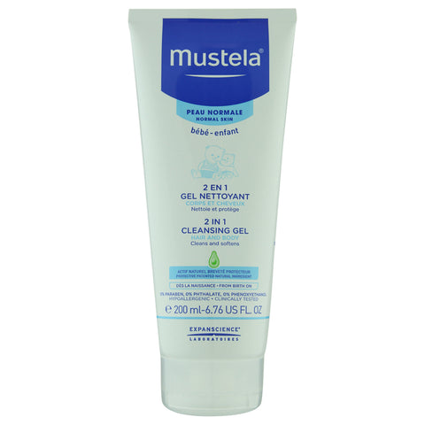 Mustela 2 in 1 Cleansing Gel | Apothecarie New York