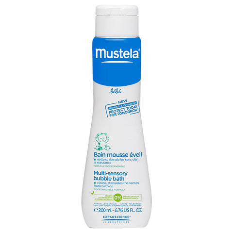 Mustela Multi-Sensory Bubble Bath | Apothecarie New York