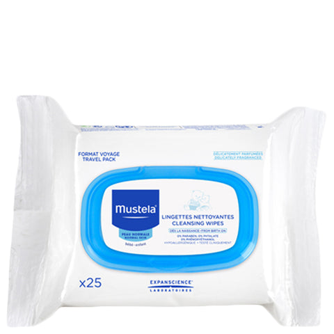 Mustela Cleansing Wipes | Apothecarie New York