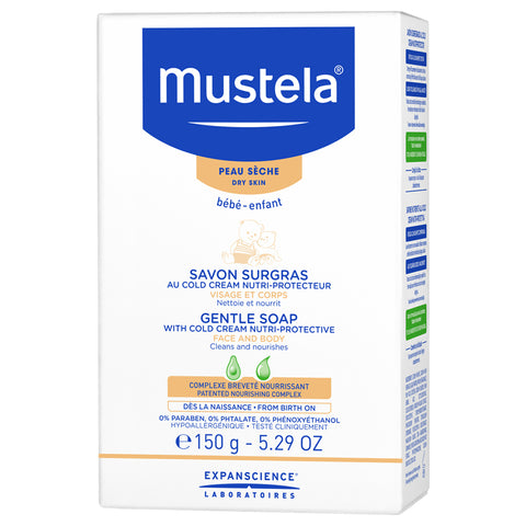 Mustela Gentle Soap With Cold Cream | Apothecarie New York