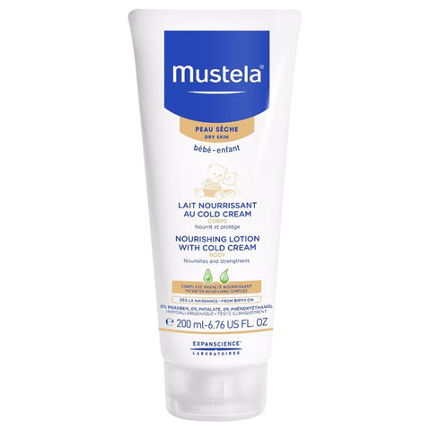 Mustela Nourishing Lotion With Cold Cream | Apothecarie New York