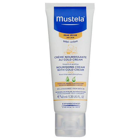 Mustela Nourishing Cream With Cold Cream Face | Apothecarie New York