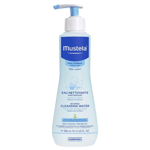 Mustela Soothing No-Rinse Cleansing Water | Apothecarie New York