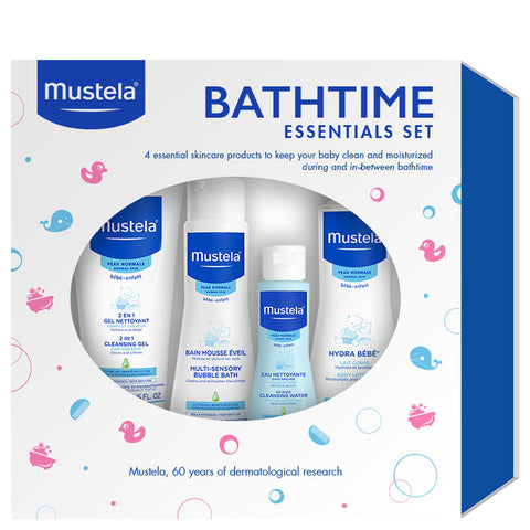 Mustela Bathtime Essentials Set | Apothecarie New York