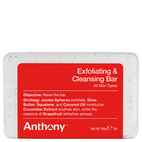 Anthony Exfoliating + Cleansing Bar | Apothecarie New York