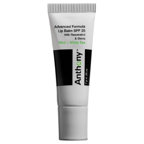 Anthony Mint And White Tea Lip Balm SPF 25 | Apothecarie New York