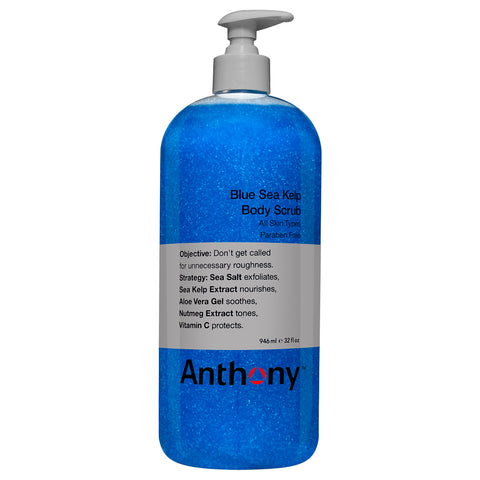 Anthony Blue Sea Kelp Body Scrub | Apothecarie New York