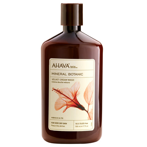 Ahava Mineral Botanic Cream Wash Hibiscus & Fig | Apothecarie New York