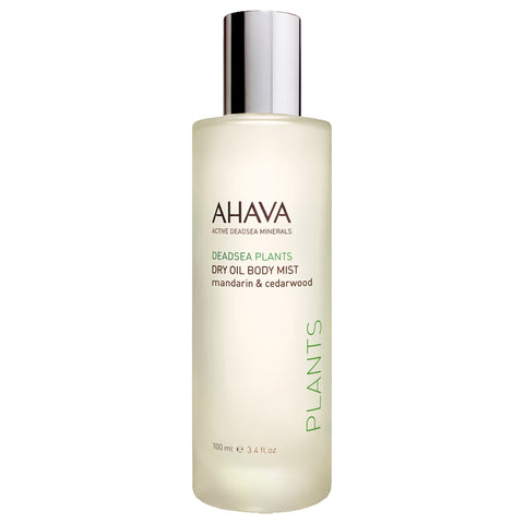 Ahava Dry Oil Body Mist Mandarin & Cedarwood | Apothecarie New York