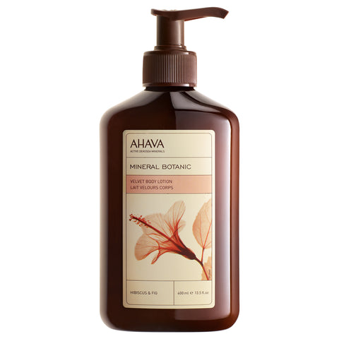 Ahava Mineral Botanic Body Lotion Hibiscus & Fig | Apothecarie New York