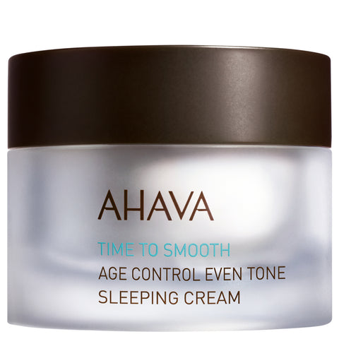 Ahava Age Control Even Tone Sleeping Cream | Apothecarie New York