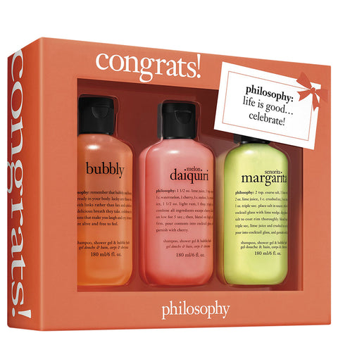 Philosophy Congrats Set | Apothecarie New York
