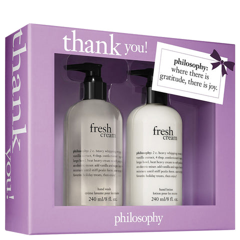 Philosophy Thank You Set | Apothecarie New York