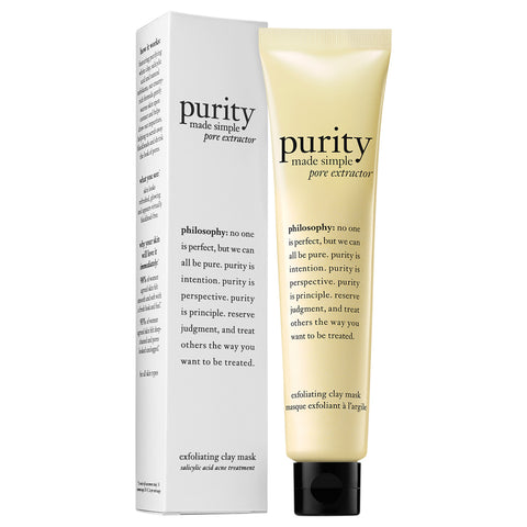 Philosophy Purity Made Simple Pore Extractor Exfoliating Clay Mask | Apothecarie New York
