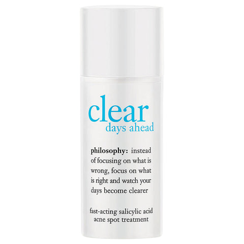Philosophy Clear Days Ahead Fast-Acting Salicylic Acid Acne Spot Treatment | Apothecarie New York