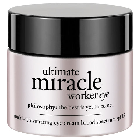 Philosophy Ultimate Miracle Worker Multi-Rejuvenating Eye Cream Broad Spectrum SPF 15 | Apothecarie New York