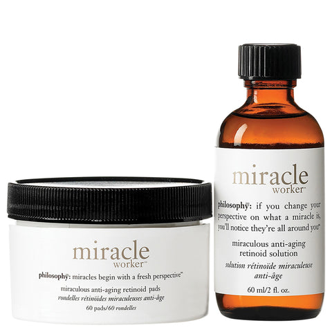 Philosophy Miracle Worker Anti-Aging Retinoid Pads | Apothecarie New York