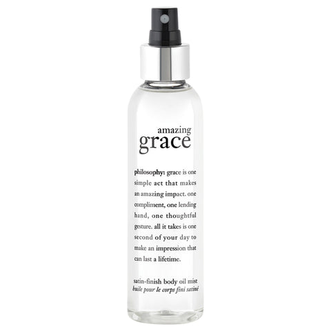 Philosophy Amazing Grace Satin-Finish Body Oil Mist | Apothecarie New York
