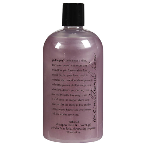 Philosophy Unconditional Love Perfumed Shampoo, Bath & Shower Gel | Apothecarie New York