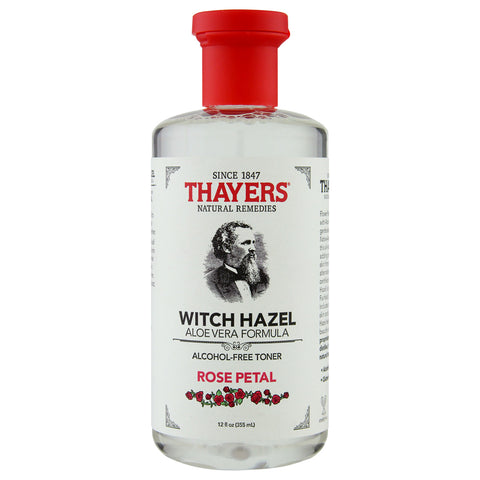 Thayer's Alcohol-Free Rose Petal Witch Hazel Toner  | Apothecarie New York