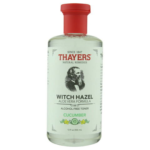Thayer's Alcohol-Free Cucumber Witch Hazel Toner with Aloe Vera | Apothecarie New York