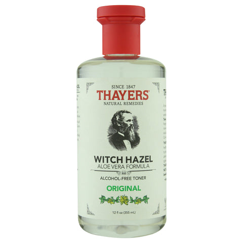 Thayer's Alcohol-Free Original Witch Hazel Toner with Aloe Vera | Apothecarie New York