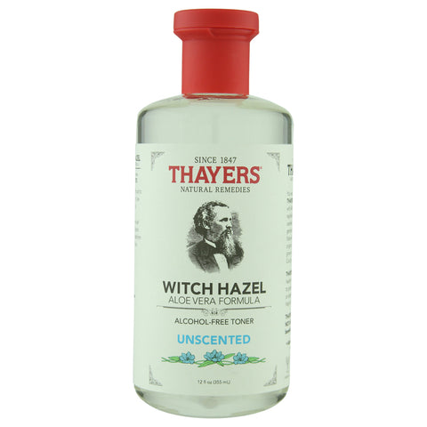 Thayer's Alcohol-Free Unscented Witch Hazel Toner with Aloe Vera | Apothecarie New York
