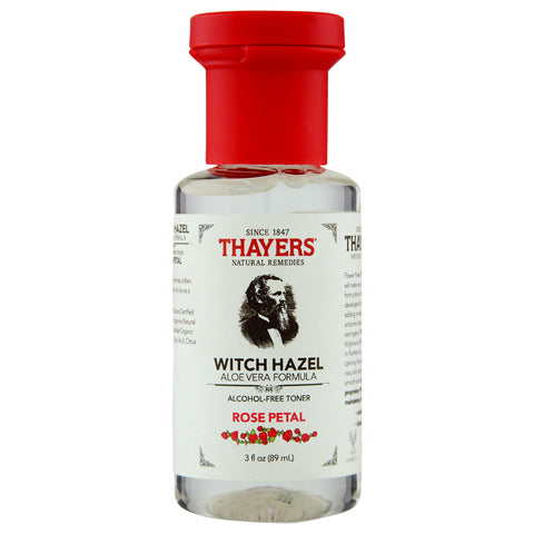 Thayer's Alcohol-Free Rose Petal Witch Hazel Toner with Aloe Vera | Apothecarie New York
