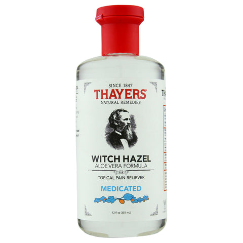 Thayer's Medicated Witch Hazel Astringent with Aloe Vera | Apothecarie New York