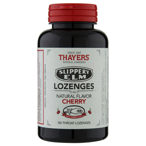 Thayer's Cherry Slippery Elm Lozenges | Apothecarie New York