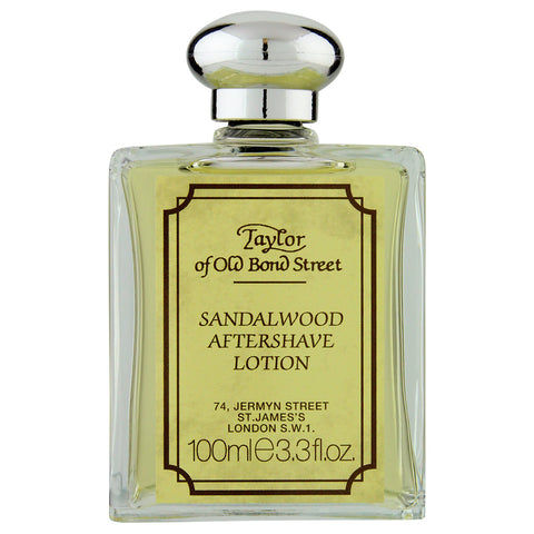 Taylor of Old Bond Street Sandalwood Aftershave Lotion | Apothecarie New York