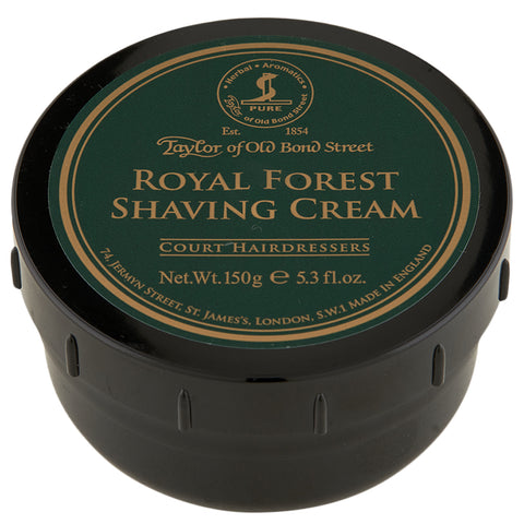 Taylor of Old Bond Street Royal Forest Shaving Cream | Apothecarie New York