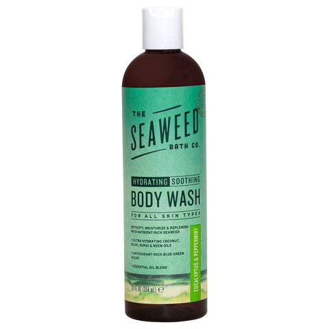 The Seaweed Bath Co. Body Wash Eucalyptus & Peppermint | Apothecarie New York