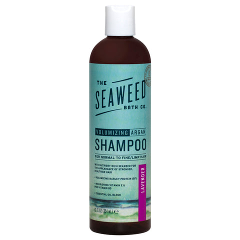 The Seaweed Bath Co. Argan Shampoo Volumizing Lavender | Apothecarie New York