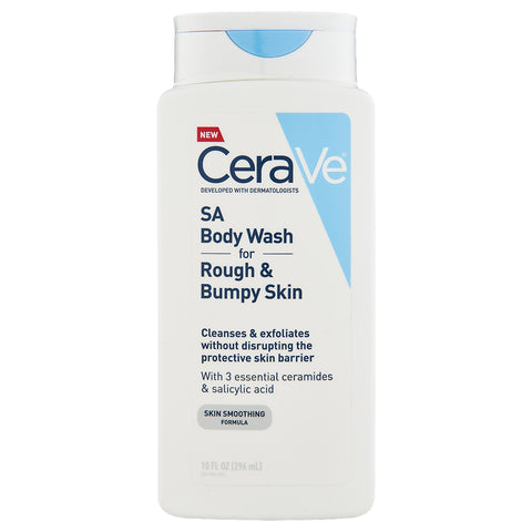 CeraVe SA Body Wash For Rough & Bumpy Skin | Apothecarie New York