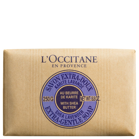 L'Occitane Shea Butter Extra Gentle Soap Lavender | Apothecarie New York